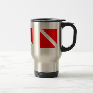 DIVER DOWN COFFEE CUP - great for travel! Coffee Mugs