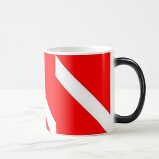 DIVER DOWN COFFEE CUP - IT MORPHS! MORPHING MUG