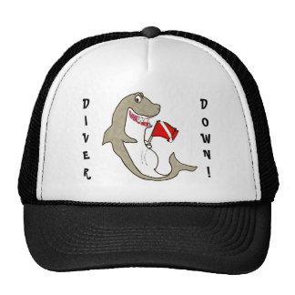 Diver Down Fat Shark Cap