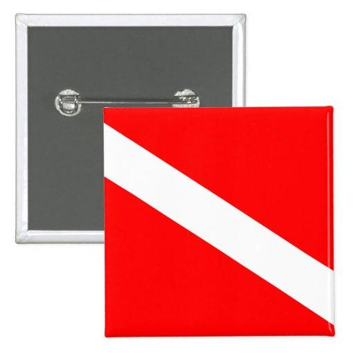 Diver Down Flag Buttons