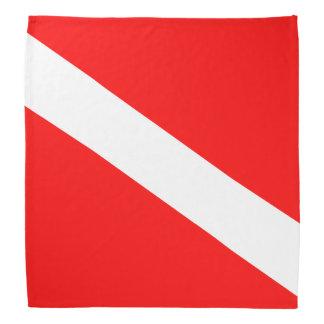 Diver Down Flag Bandana
