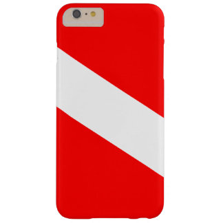 Diver Down Flag Barely There iPhone 6 Plus Case