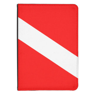 Diver Down Flag Kindle 4 Cover