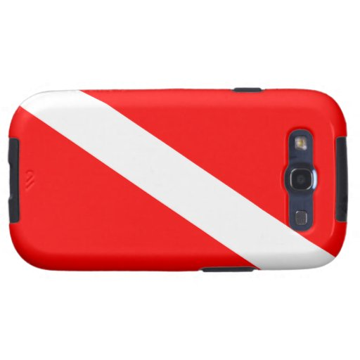 Diver Down Flag Samsung Galaxy SIII Covers