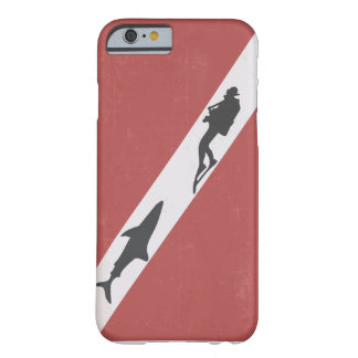 Diver Down Flag Diver Chased by Shark Barely There iPhone 6 Case