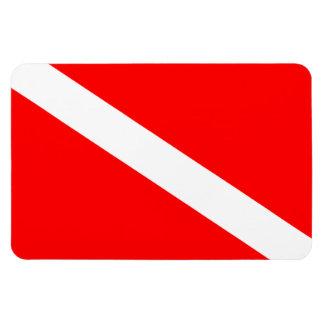 Diver Down Flag Flexible Magnet