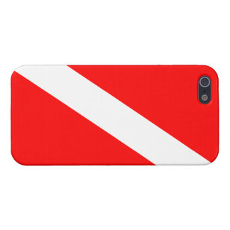 Diver Down Flag iPhone 5 Case