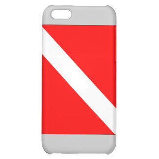 Diver Down Flag iPhone 5C Cover