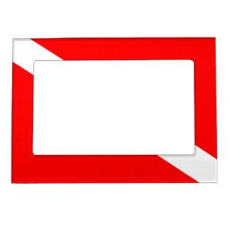 Diver Down Flag Magnetic Frames