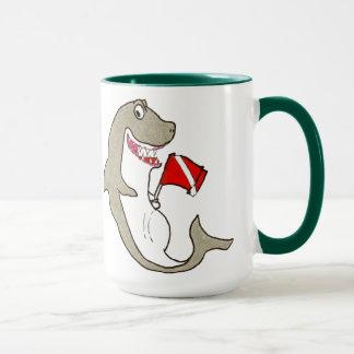 Diver Down Hungry Shark Mug