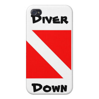 Diver Down Covers For iPhone 4