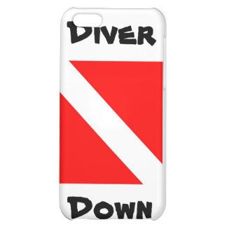 Diver Down Case For iPhone 5C