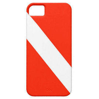 Diver Down Scuba Dive Flag Case For The iPhone 5