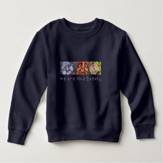 Diver for children with friendly monsters sweatshirt