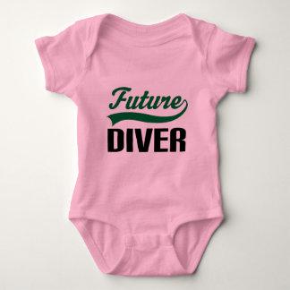 Diver (Future) Baby Bodysuit
