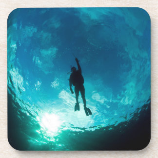 Diver in the Sky Set of 6 Coasters