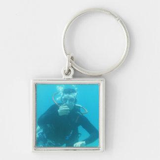 Diver Key Ring