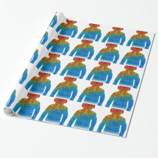 Diver Wrapping Paper