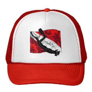 DiverDown Collection Mesh Hats