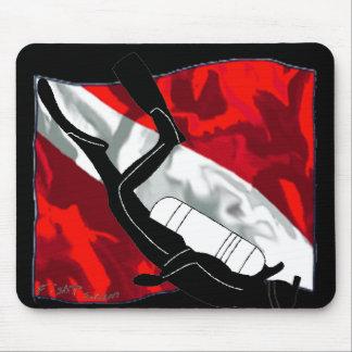DiverDown Collection Mouse Pad