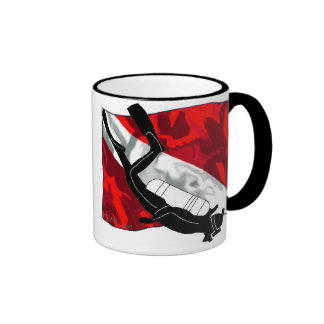 DiverDown Collection Ringer Mug