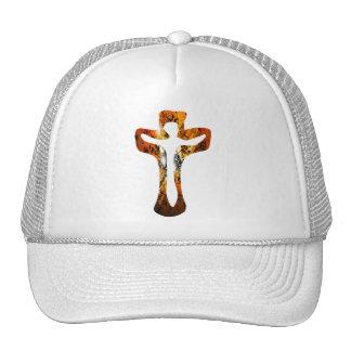 Divers 3 Christ sur Croix Effets braise TIF Hat