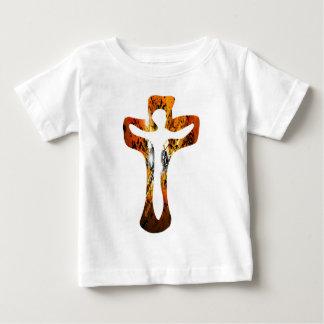 Divers 3 Christ sur Croix Effets braise TIF Shirt