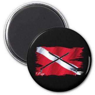 Divers Den Collection 6 Cm Round Magnet