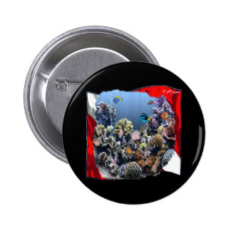 Divers Den Collection Pinback Button