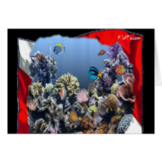 Divers Den Collection Greeting Card
