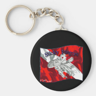 Divers Den Collection Keychain