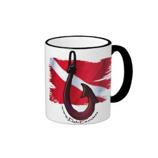 Divers Den Collection Ringer Coffee Mug