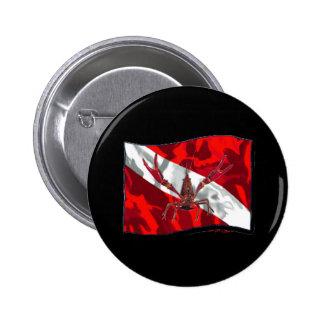 Divers Den Collection Pinback Buttons