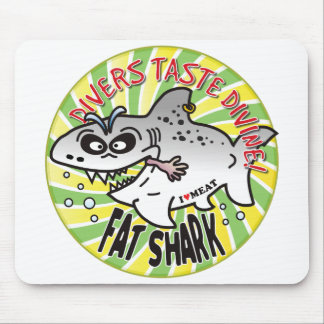 Divers Fat Shark Mousepads