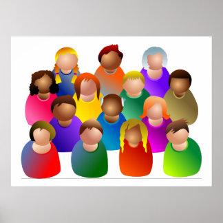 Diverse Community Poster