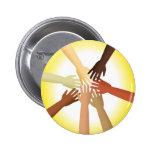 Diverse Hands Buttons