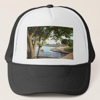 Diversey Harbor Chicago Lakefront 1970's Trucker Hat