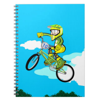 Diversion to the maximum with this bicycle BMX Notebook