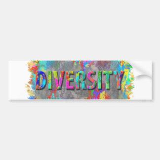 Diversity. Bumper Sticker