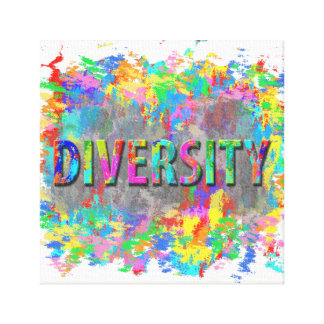 Diversity. Canvas Print