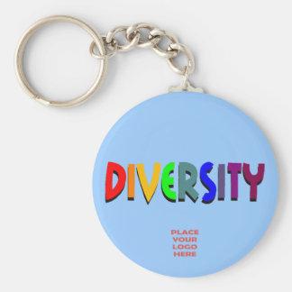 Diversity Custom Baby Blue Keychain