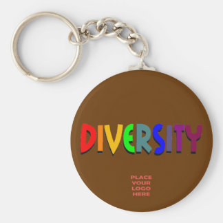 Diversity Custom Chocolate Keychain