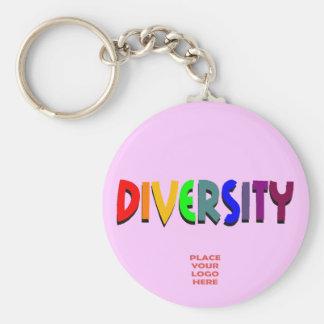 Diversity Custom Lavender Keychain