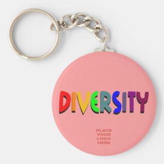Diversity Custom Salmon Keychain