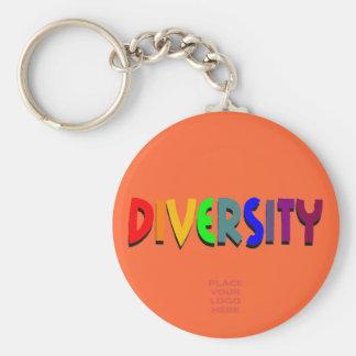 Diversity Custom Scarlet Keychain