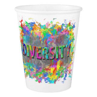 Diversity. Paper Cup