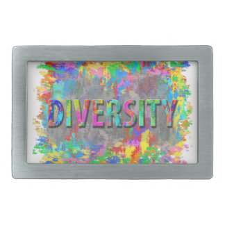 Diversity. Rectangular Belt Buckles