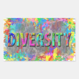 Diversity. Rectangular Sticker
