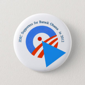 Diversity Supporters for Obama 6 Cm Round Badge