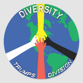 Diversity Trumps Division - Sticker